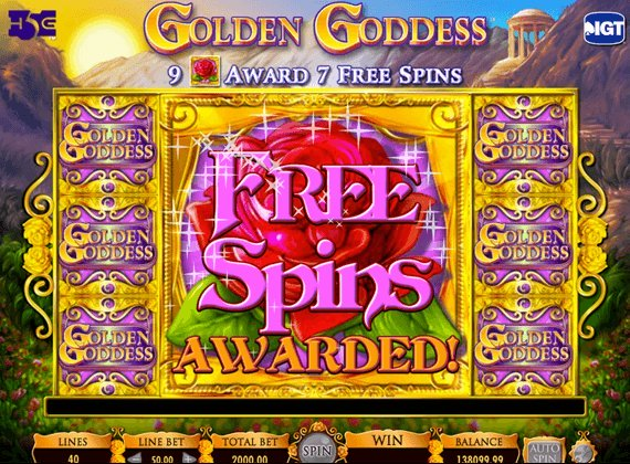 Online Slot Machine's Free Spins